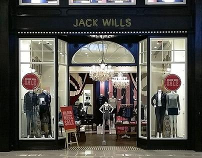 Jack Wills YOHO Mall, Hong Kong Retail Store Design