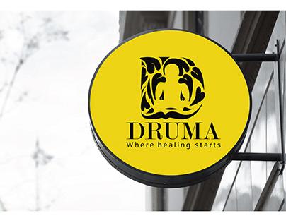 Logo Design- DRUMA where healing starts