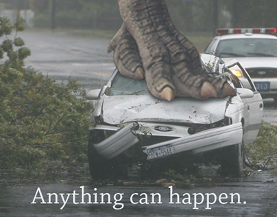 Photo Manipulation | Anything can happen.
