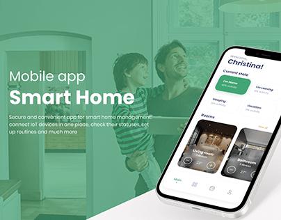 Smart Home Automation App - UI/UX Design