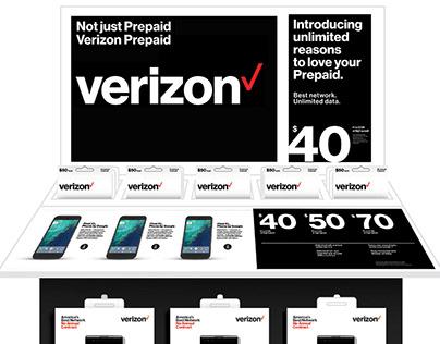 On-site Freelance: Pentagram for Verizon