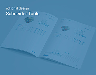editorial design - Schneider Tools