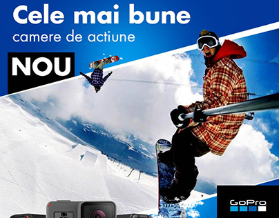 Web Banner Concept GoPro
