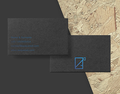 A Squared - Brand Identity