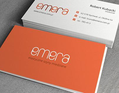 Emera - Corporate Identity (logo, website, etc.)