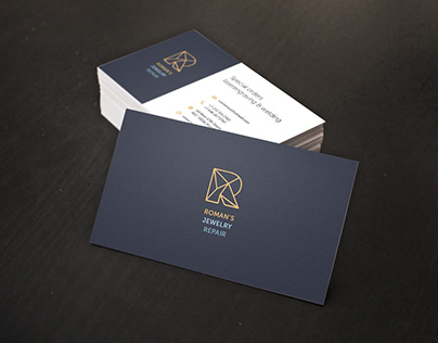 Branding - Roman's Jewerly Repair, NYC, USA