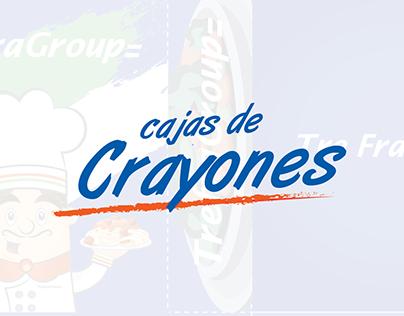 Cajas de Crayones - Trefragroup