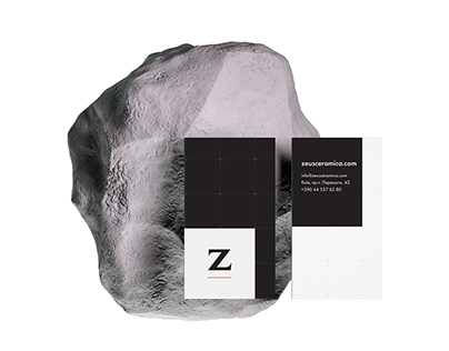 Styleguide and identity ZeusCeramica