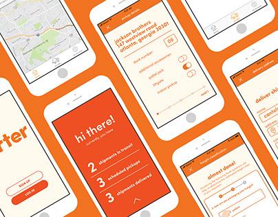 Porter Freight App Design