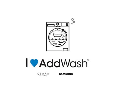 Clara Ibarguren/Samsung Addwash // Campaña