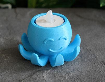 Octopus Tea Light