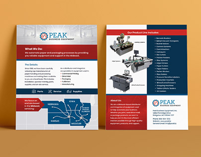 Peak Business Group Flyer