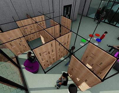 Spatial Dividers - Concept Design