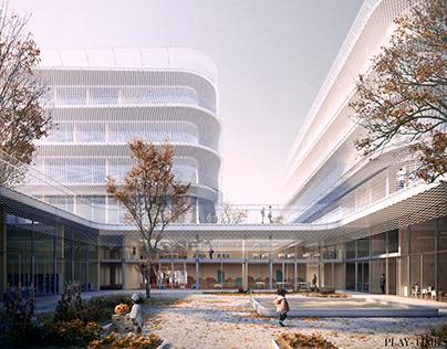 New School | Alonso Sosa + Rainer Schmidt