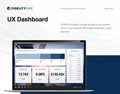 UX Dashboard