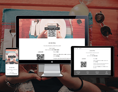 Website + AMP | QR Code menu