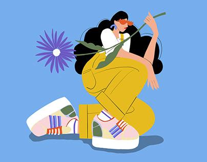 Illustrated women Part 02