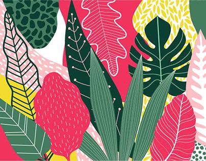 Creanza Tropical Banner