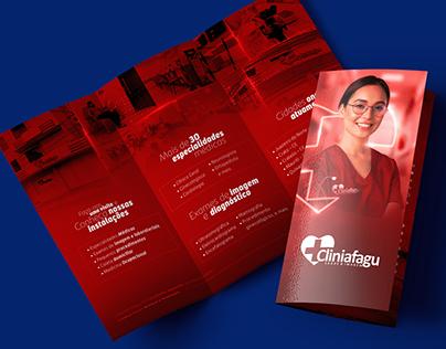 Folder Tri-Fold   Cliniafagu • CEPAG • Afagu