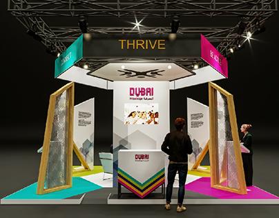 Exhibition Stand Design for Dubai Culture