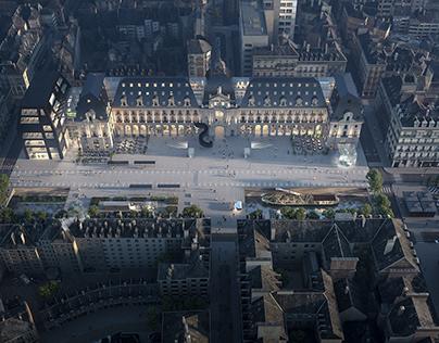MVRDV -Palais du Commerce - Rennes
