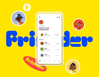 Friender - Kid Care App UX/UI Design