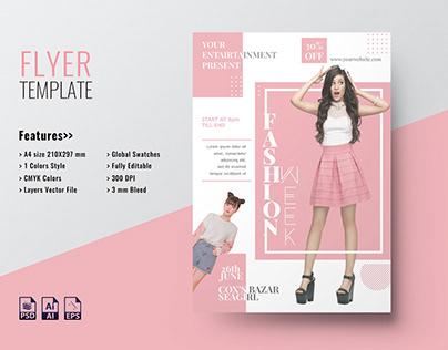 Fashion A4 Flyer
