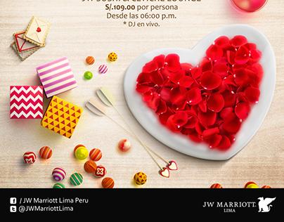 Día de San Valentín JW Marriott