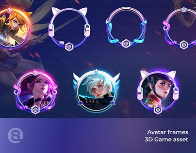 Game Avatar Frames