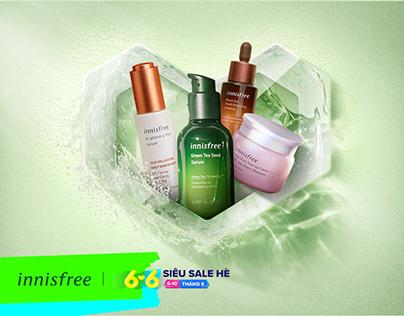 KEY VISUAL → innisfree x Lazada Mid Year Sale 6.6