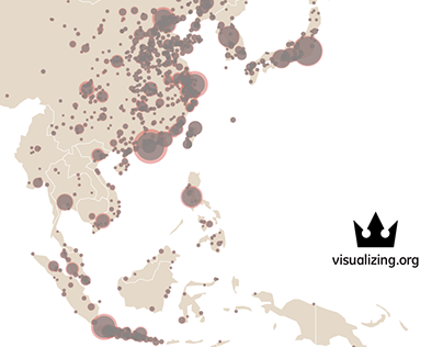 Urbanization in East Asia | Visualizing.org winner
