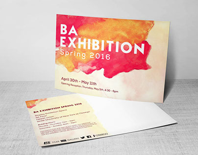 BA Exhibition Promotional Materials