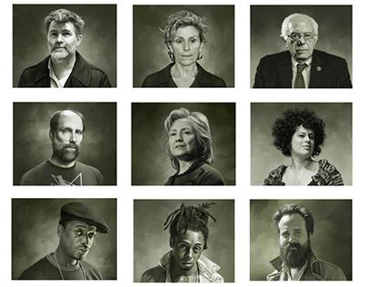 Digital Paintings: Portraits