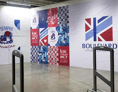 Tapume · Boulevard Londrina Shopping