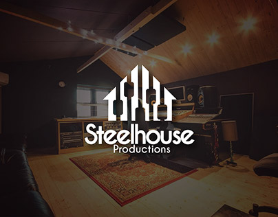 Steel House Production Logo