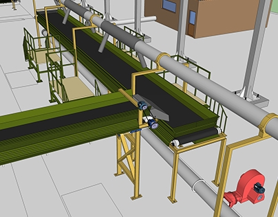 IEC Waste Management Plant Modeling