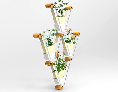 Vertiplant System - Industrial Design