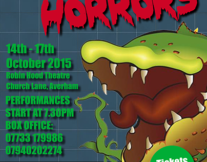 Little Shop of Horrors Marketing Materials