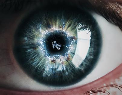 Espacio en tus ojos - Composición Digital
