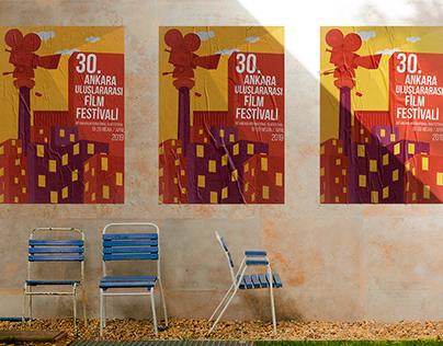 30. INTERNATIONAL ANKARA FILM FESTIVAL POSTER DESIGN