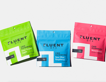 Fluent Cannabis Care Product Photography