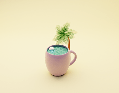 Sea in the cup
