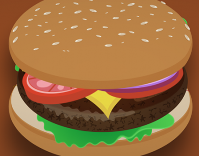 Burger Fest Bumper Animation