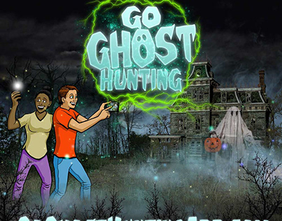 Go Ghost Hunting App Logo & Artwork