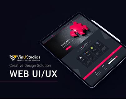 ZoneLeads Web UI/UX Design