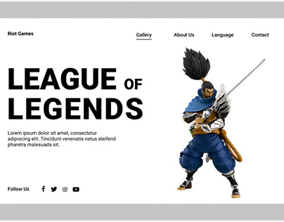 【LEAGUE OF LEGENDS】Redesign concept