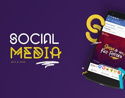 Social Media ♢ 2017 | 2018