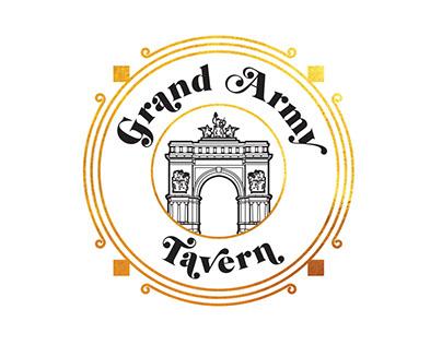 Logo Design for Grand Army Tavern