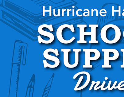 Hurricane Harvey Back to School Drive