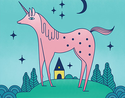 Utopia island's unicorn